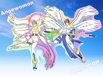 angemon en angewomon