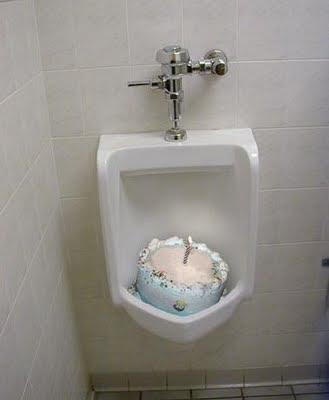 Onlymeyers Urinal Cake Who S Birthday