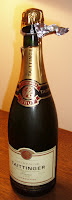 Tattinger Champagne bottle