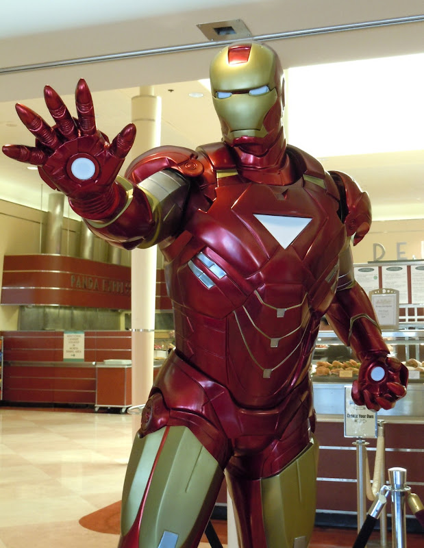Iron Man 2 authentic suit