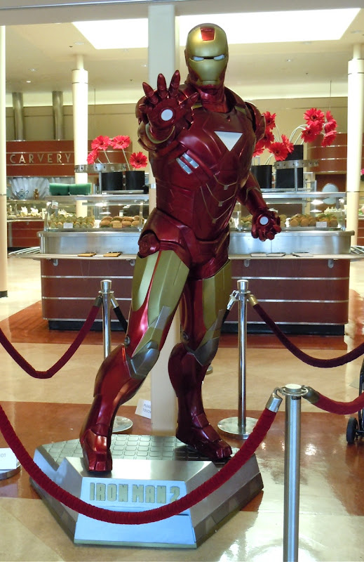 New Iron Man 2 suit