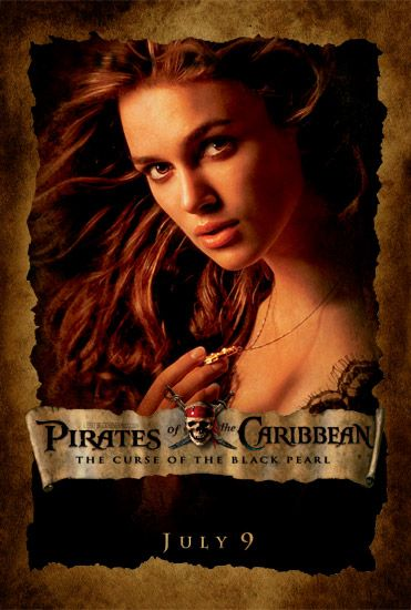 Piartes of the Caribbean movie poster