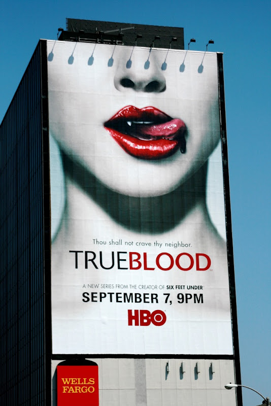True Blood season 1 TV billboard