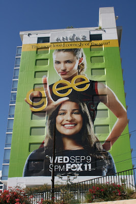 Glee TV series billboard