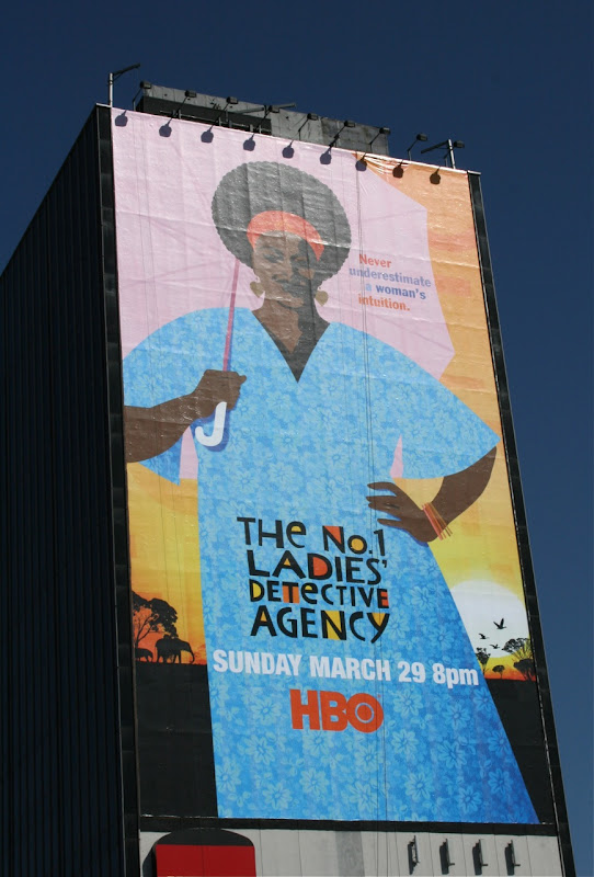 No 1 Ladies Detective Agency TV billboard