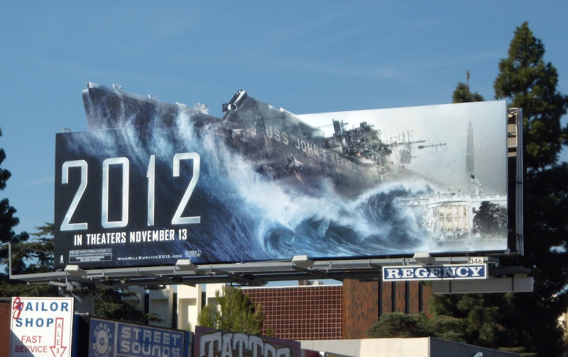 2012 JFK aircraft carrier movie billboard