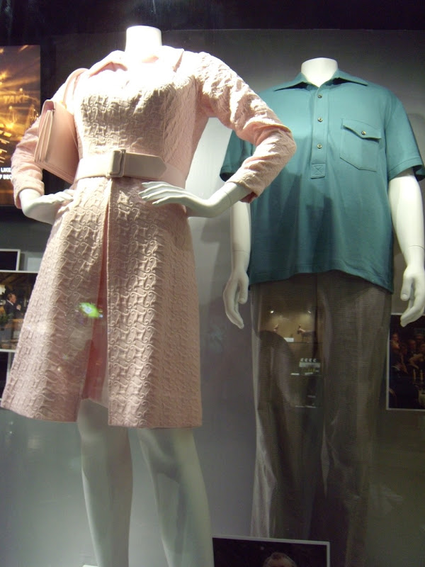 Frost Nixon movie costume display