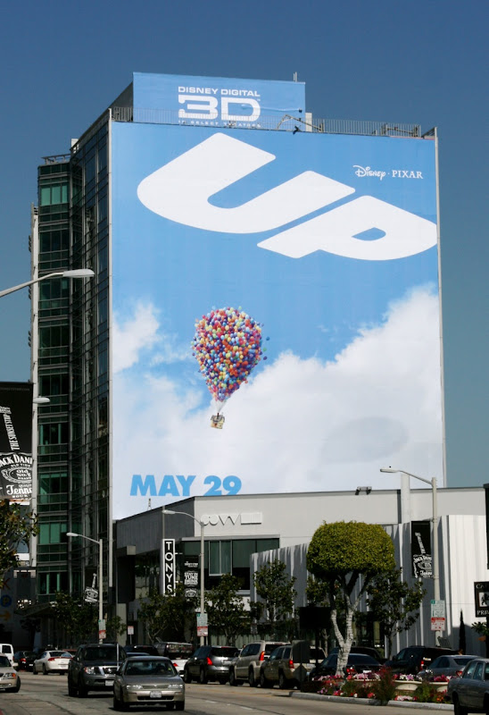 UP teaser movie bilboard