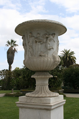 Huntington Gardens ornamental urn
