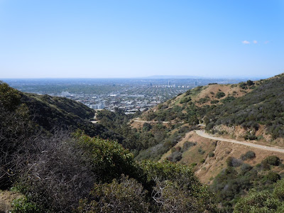 Clear day at Runyon Canyon