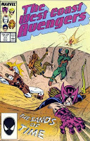 The West Coast Avengers #20 cover