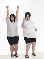 BEFORE picture of Ali - Biggest Loser Season 5 winner