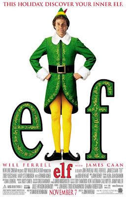 Will Ferrell as Elf movie poster
