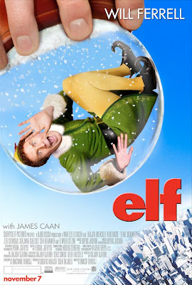 Elf snowglobe movie poster