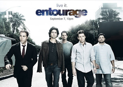 HBO Entourage season 5 cast promotional poster