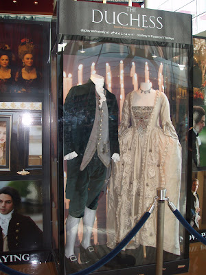 The Duchess movie costumes on display at Arclight Hollywood