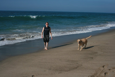 Charlie & Cooper at Sycamore Cove