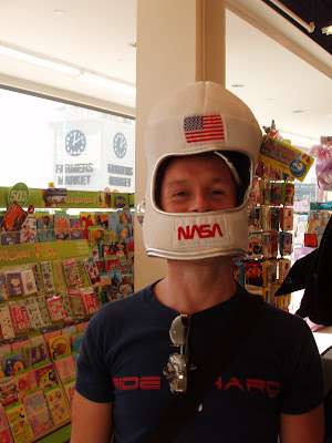 Halloween hat - NASA helmet