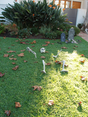 West Hollywood homes have the Halloween spirit