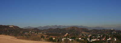 The Hollywood Sign and The Griffith Observatory