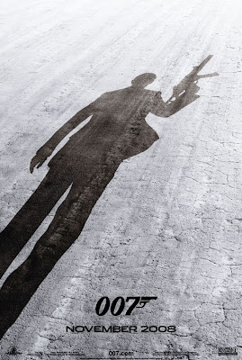 007 Quantum of Solace teaser movie poster