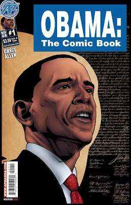 Obama - The Comic Book cover