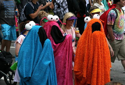 Muppets at Bay to Breakers 2010