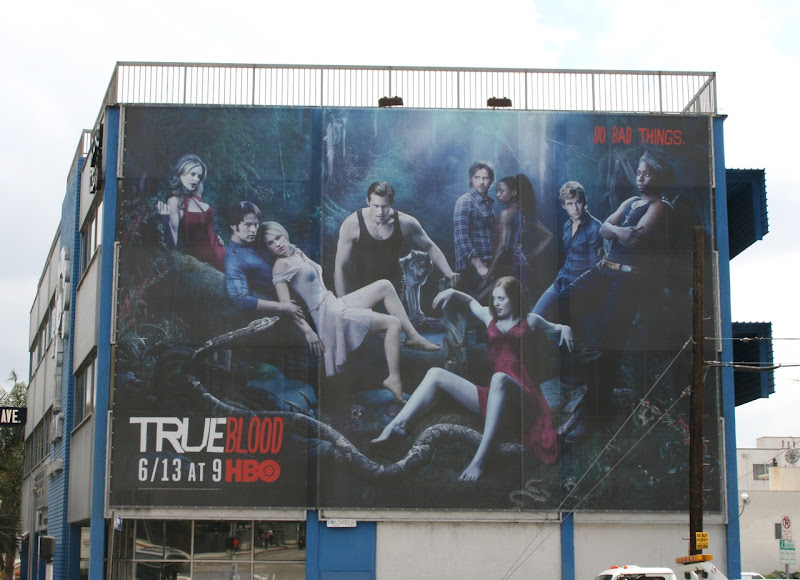 True Blood Do Bad Things TV billboard