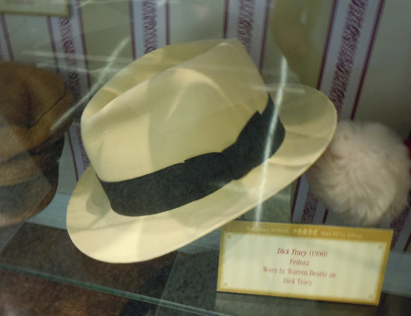 Warren Beatty's Dick Tracy fedora hat