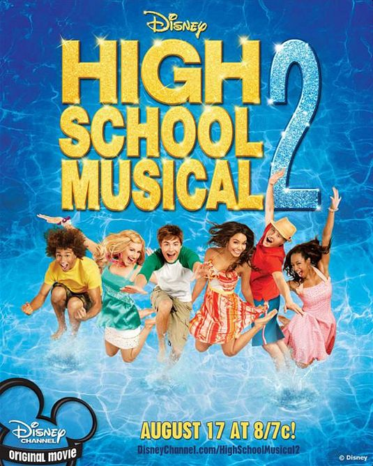High School Musical 2 movie poster