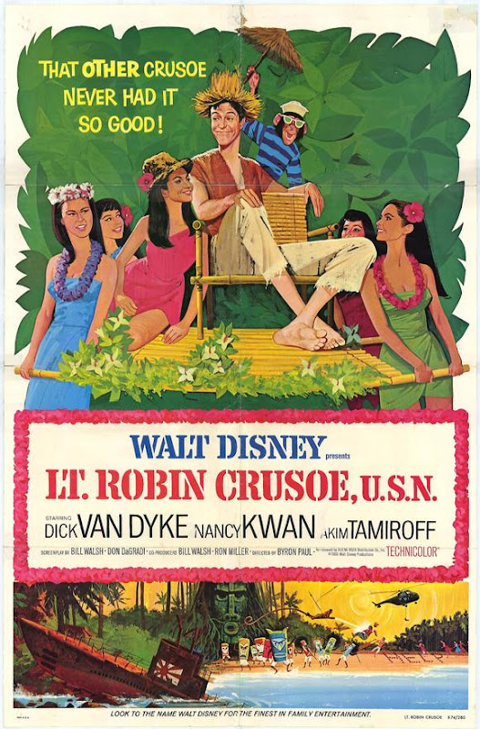 Lt. Robin Crusoe USN movie poster