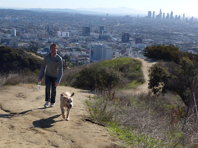 Cooper's Boxing Day Runyon Canyon hike