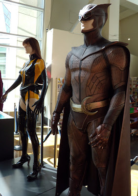 Watchmen movie costumes - NIte Owl close up