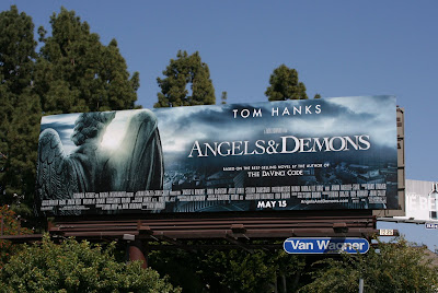 Angels & Demons movie billboard