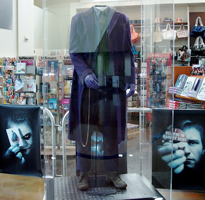 Original Joker costume from The Dark Knight movie