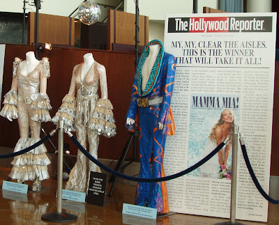 Cast costumes from Mamma Mia The Movie