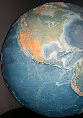 Griffith Observatory world globe model