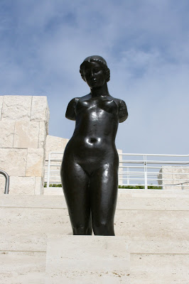 Torso of Dina at Getty Sculpture Terrace