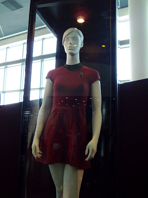 Original Star Trek red female Starfleet uniform