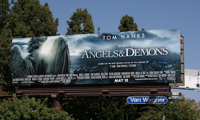 Angels and Demons movie teaser billboard