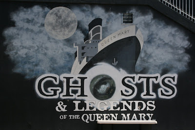 Ghosts and legends of the Queen Mary ocean liner