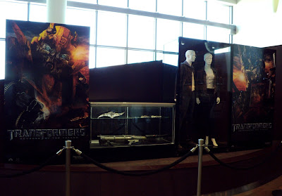 Transformers 2 movie display at ArcLight Sherman Oaks