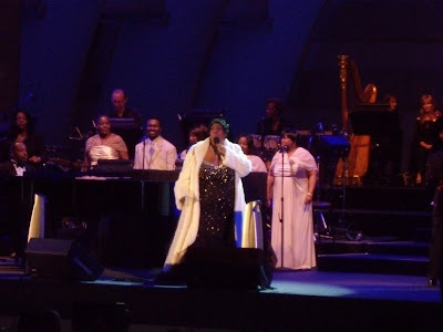 Aretha Franklin dazzles at The Hollywood Bowl