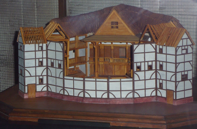 Elizabeth The Golden Age Globe Theatre film model