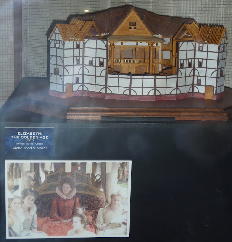 Globe Theater model from Elizabeth The Golden Age