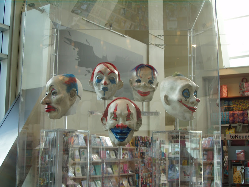 The Dark Knight costumes - Clown gang masks