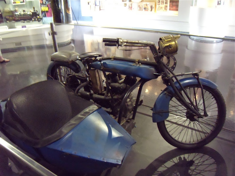Leatherheads motorcycle and sidecar movie replica