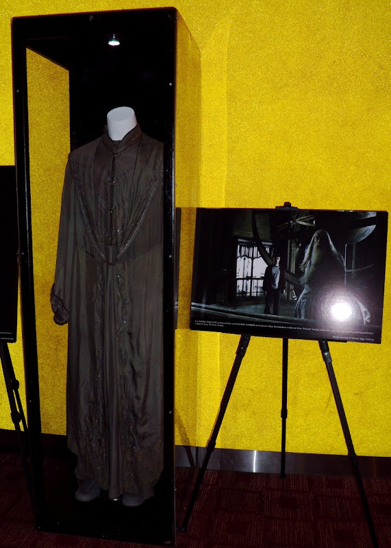 Michael Gambon's Dumbledore movie costume