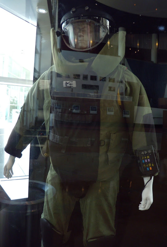 Bomb disposal suit from The Hurt Locker movie