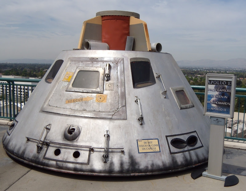 Apollo 13 space capsule movie prop